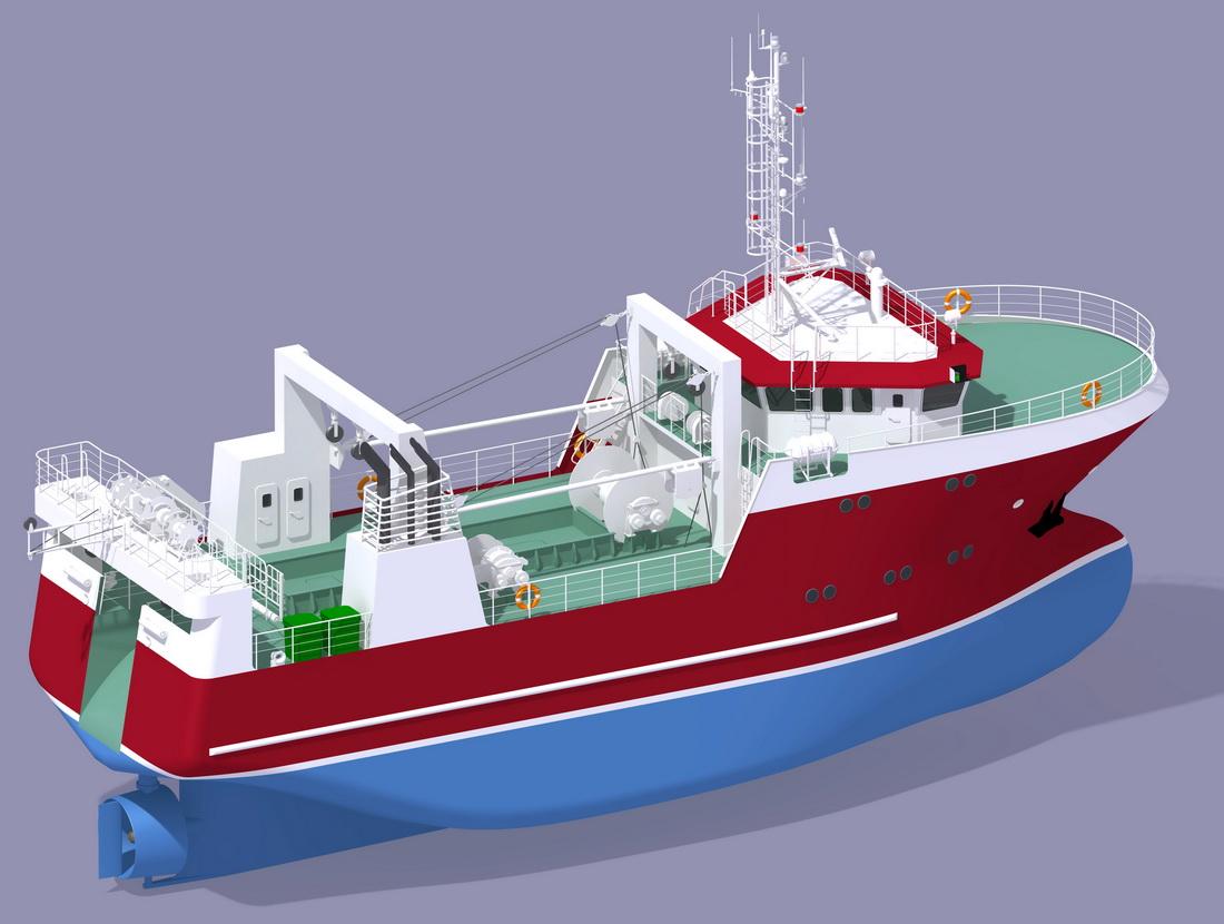 проекты рыболовных траулеров
