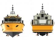 2013 - Проект скоростного лоцманского катера Р1400