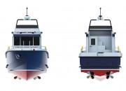 2013 - Проект многофункционального служебно-разъездного катера Р1650 Рондо