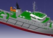 2011— Проект универсального судна обеспечения P4240