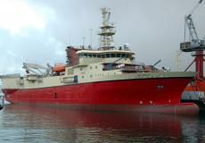 2007 — Совместный проект сейсмографического исследовательского судна 532