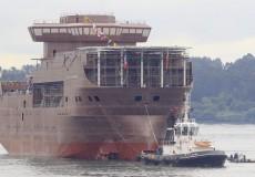 2014-2015— Совместный проект судна снабжения B215
