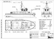 2002 - Проект технологического судна (буксир-плотовод) P1137