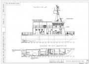 2002 - Проект гидрографического судна-катамарана P1870