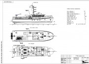 2014 - Проект экспедиционного (служебно-разъездного) катера P1990