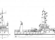 2016 - Проект судна бонопостановщика-нефтемусоросборщика P2114