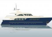 2003 - Проект моторной яхты Р2800