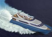 2004 - Проект моторной яхты Р3070