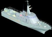 2000 - Проект патрульного катера Р3350