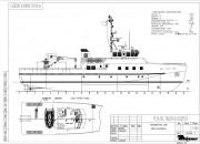 2014 - Проект гидрографического судна P3450
