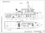 2007 - Проект грузо-пассажирского судна (для Каспийского моря) P3470