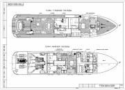 2005 - Проект моторной яхты Р3500
