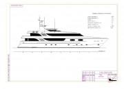2004 - Проект моторной яхты Р4860
