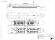 2002 - Проект пассажирского круизного судна «река-море» Р8200