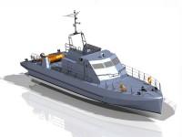 Проект патрульного катера R2340 НОВИК