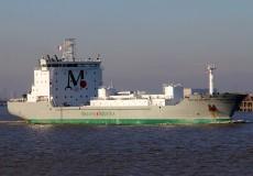 2007 — Совместный проект судна для перевозки цемента P-1572